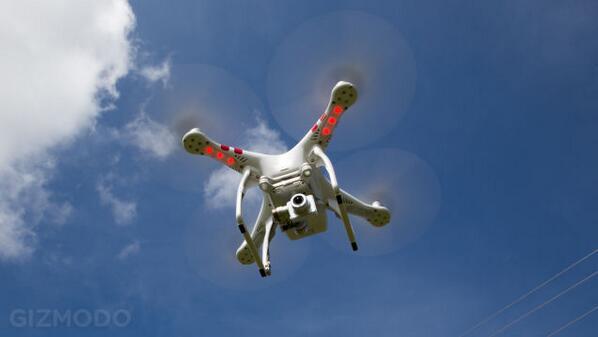 Sweet! cc @AliElDali RT @Gizmodo: The DJI Phantom 2 quadcopter is now a real autonomous drone http://t.co/mAfIpi2sJe http://t.co/IH9TYyxZZM