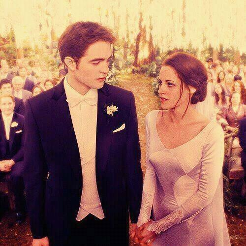 Ladies and gentlemen, we're gathered here on this glorious day to witness the union of Edward Cullen and Bella Swan