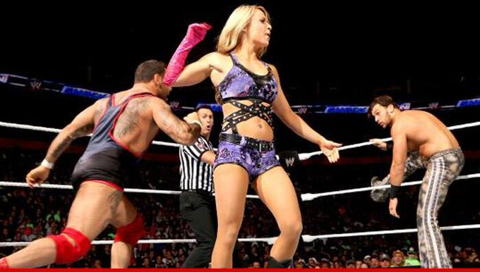 WWE Diva/shoplifter Emma REHIRED ... just two hours after getting canned #LessonLearned http://t.co/VBHesORLWm http://t.co/kTRGKiAHHA