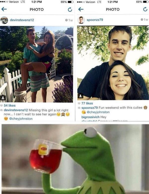 Kermit the snitch got this girl caught !