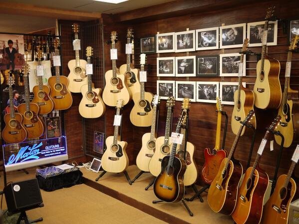 本日〜7/21 メイトンフェア『Feel The Maton Guitars』皆様のご来店お待ちしております!http://t.co/TIzLGkxFo6 http://t.co/1BvYxTf4MA