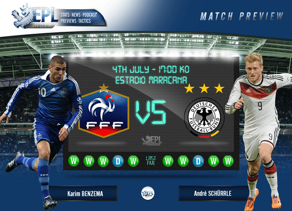 #FRA vs #GER Preview | FIFA World Cup 2014: Quarter Finals http://t.co/nId42q5nbv | By @The_Jersey_Fitz | http://t.co/5rvbM4dJjX