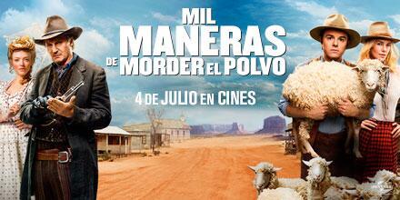 Hemos reído mucho con la nueva comedia de Seth McFarlane, el mismo de TED.#MilManerasDeMorderElPolvo @Universal_Spain http://t.co/4XYNeawHu3