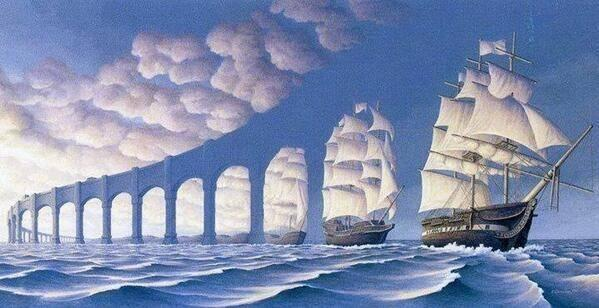 The Magic Realism by Rob Gonsalves http://t.co/BYEyLEe0l1
