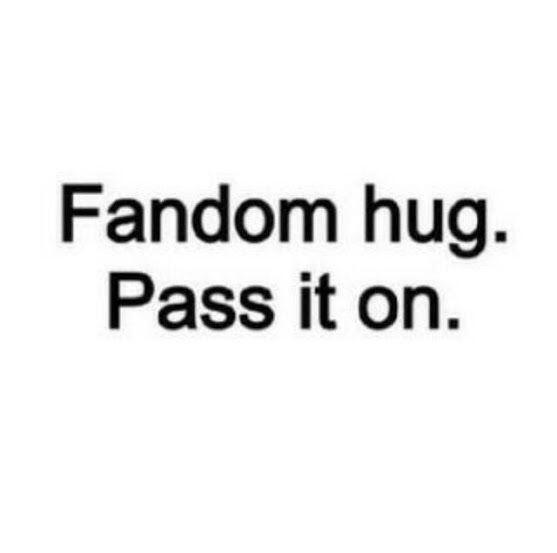 What a relief.. Here is a hug for all the #Gleeks http://t.co/3pf7ufPbn3