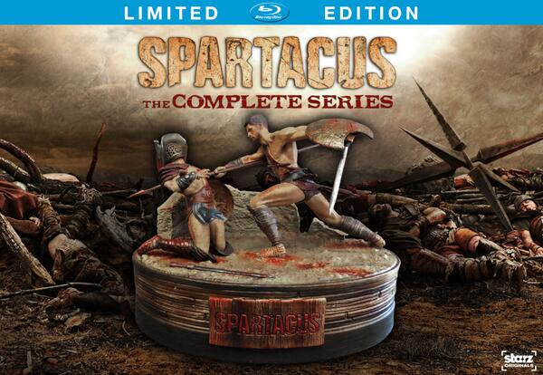 Etch glorious day into memory. The Spartacus Complete Series will be set upon the world 9/16. http://t.co/3gGpbxrOeS http://t.co/8GX7m4yvCH