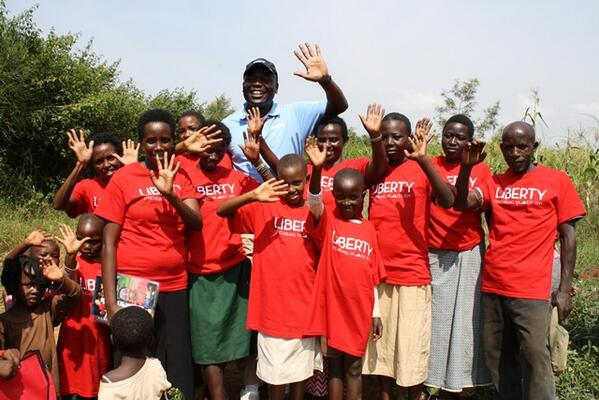 Thank you @LibertyU for making a difference in #Rwanda! http://t.co/y4yhas8Q9L http://t.co/gMQIKh88rm
