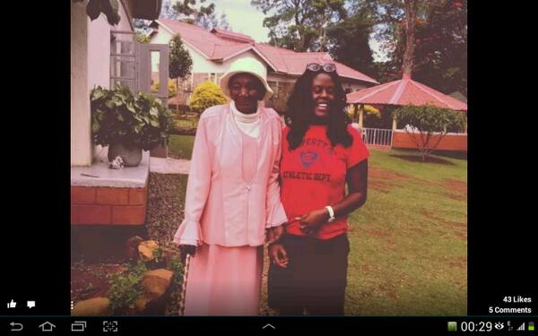 Mama Rosah Oyoo has just gone to be with the Lord. Rest in Peace Mama we will miss you a lot. http://t.co/no84wX9ymQ