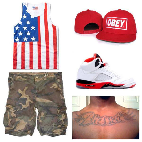Lol the tat is the closer RT @afroazn: RT @NauniMoon: niggas be like, today's fit. http://t.co/fvkmCR2NJX