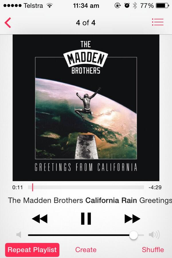Baby I believe in CALIFORNIA RAIIIN