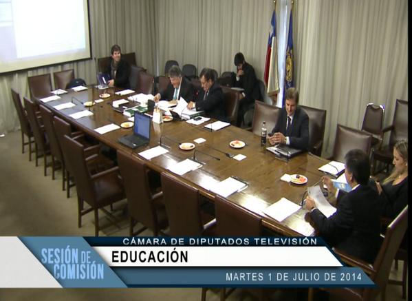 Vergüenza: sesión de comisión de educación vacía. Tema crucial para Chile y menos de mitad de integrantes asisten. http://t.co/XtzgfeWNcl