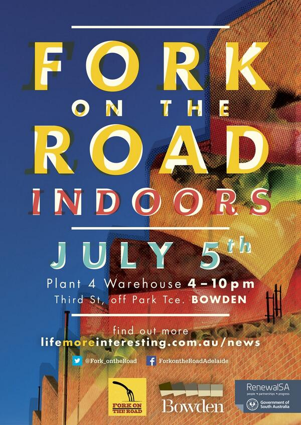 Are you going today? -> RT @Fork_ontheRoad: Forking all year round... get amongst it #adelaide! #myAdelaide http://t.co/Nee6es4kQM