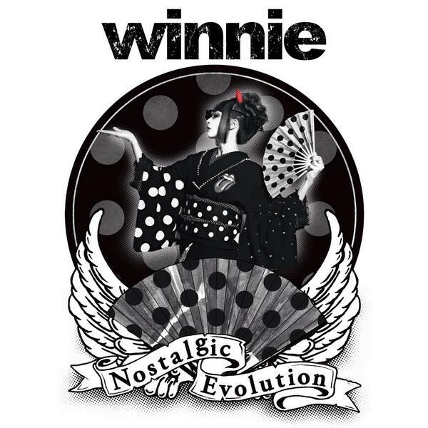 【ジャケ公開】 8月20日発売のwinnie新作フルアルバム「Nostalgic Evolution」よろしくです! http://t.co/xLMwRQWw3z