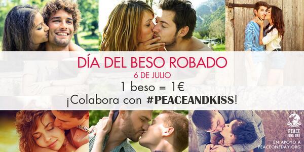 ¡Sube tu beso por la paz con #peaceandkiss! ¡Ayúdanos a llegar a los 10.000! http://t.co/FR5ICuZek1 http://t.co/LFBffBbhiO