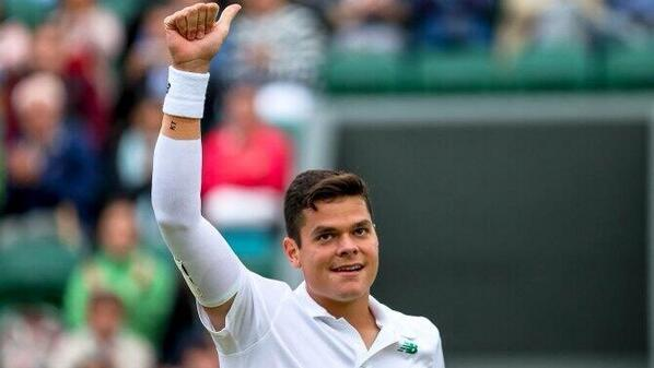 Woke up & realized yesterday was NOT a dream! And we get to do it all again today!! GOOO MILOS! #Wimbledon #CdnTennis http://t.co/mgvPi2MeIL