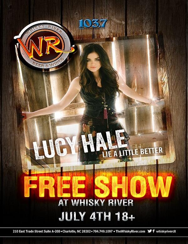 Happy 4th of July!  @lucyhale will be spending her 4th with us performing a FREE show presented by WSOC! http://t.co/GVQVnkGo9i