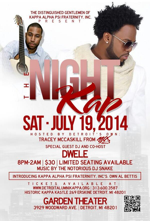 #DETROIT SaturDwe 7.19.14!! @THEREALDWELE will be Hosting & DJing! 'The Night Lap Summer Party' -> http://t.co/cN6Zh8wmdu #GetYourTixs