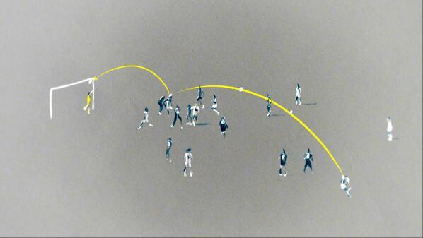 Illustration: Mats Hummels scores to put Germany 1 - 0 up against France http://t.co/KYLxPOzvtL