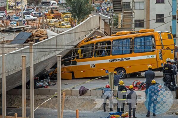 Jalan layang runtuh, Brasil berkabung http://t.co/2dJl689OGK http://t.co/Y6ueqEeWAL