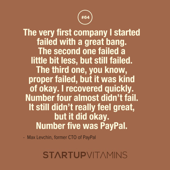 """""""Number five was PayPal."""" - @mlevchin http://t.co/ifp6jtANt7"""
