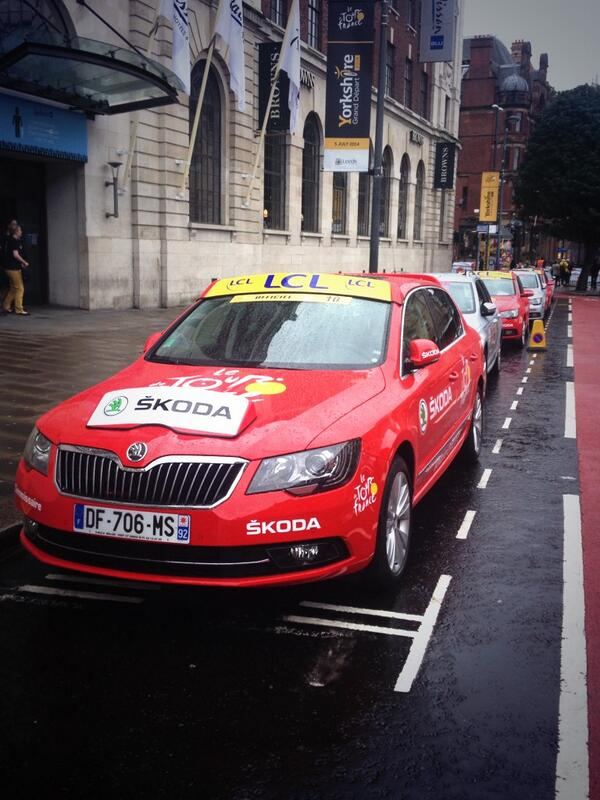 It seems there is a small bike race starting in Leeds today...#TDF2014 http://t.co/jZQQx8oXXE