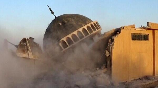 #ISIS destroys shrines, Shiite mosques in #Iraq http://t.co/tGMzYrA8jy http://t.co/B9mHiUBAD2