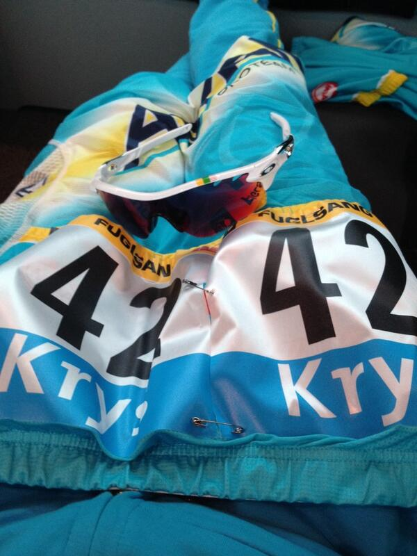 Numbers on and soon ready to roll off for the start of #TDF2014 http://t.co/qQwQNaIy1K