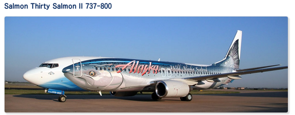 遡上するボーイング737のツイートが話題ですが、ここで立派な航空機に成長してアラスカ航空で活躍している姿を見てみましょう。 http://t.co/ZQ7VeC0szG http://t.co/jUCP2sON6Q