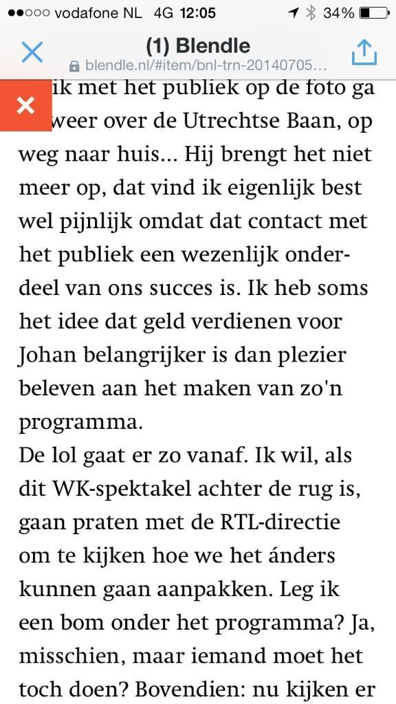 'Geld is belangrijker voor hem dan plezier beleven aan VI Oranje'Gijpie over Derksen in Trouw.https://t.co/PAbcBfCh7D http://t.co/G4WA157rHC