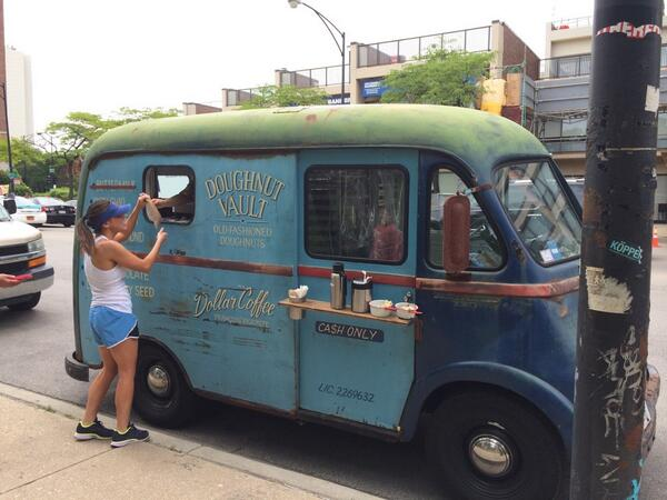 .@doughnutvault, coolest food truck in the city http://t.co/RWRyS0FqOF