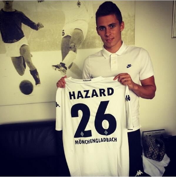 BryNOd1IAAII8Mk Chelseas Thorgan Hazard joins Borussia Monchengladbach on season long loan