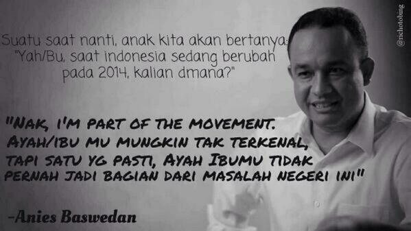 Semoga 9 Juli Allah SWT memberikan pemimpin yang terbaik buat Indonesia. Kalaupun kalah, setidaknya aku bisa bilang: http://t.co/ZyDpe3VRPe