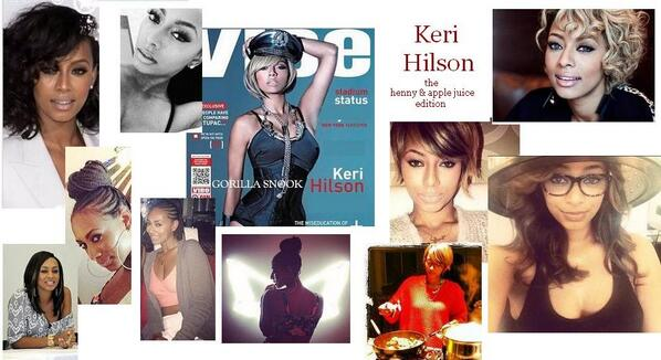 @KeriHilson ..FLY CHIC RIGHT HERE......PRETTY AS FUC TOO....