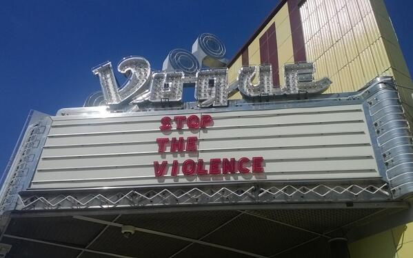 NOTICE - We WILL NOT be open at all tonight. #stoptheviolence http://t.co/CkhJwqAnUA
