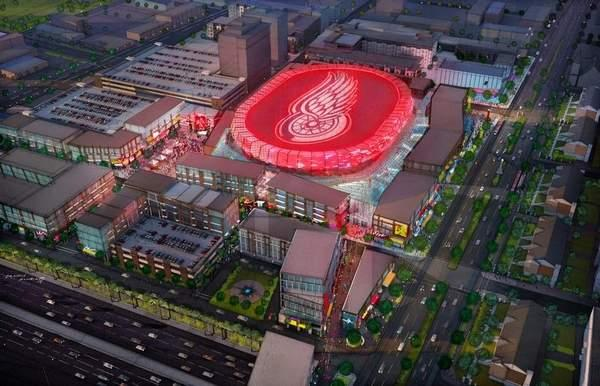 EXCLUSIVE first look: Ilitches unveil 'bold vision' for Red Wings arena district http://t.co/5A3Y8FTz6E http://t.co/niErFTy7M6