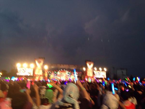 ランティス祭り三重 無事に終わりました !! みんなどうもありがとう!!楽しくて楽しくて みんな最高でした!! あなたに出会えてしあわせい! ランティス最高!!!! (≧∇≦)/  もっともっとー(^∇^) http://t.co/ZlOwXtUML3