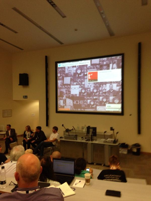 Love this photo from IWMW 2014 (Institutional Web Management Workshop) ##iwmw14 @iwmw  [pic] --