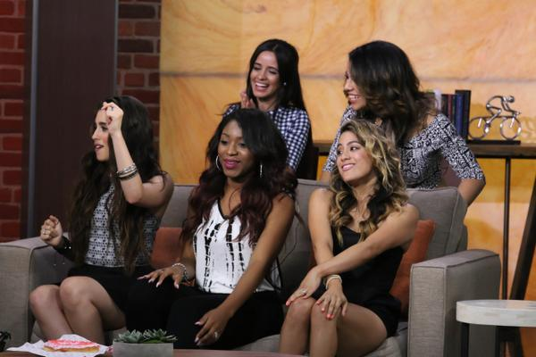 So much fun to have @FifthHarmony here. http://t.co/K8M0imseHP http://t.co/TzGnDIFtqZ