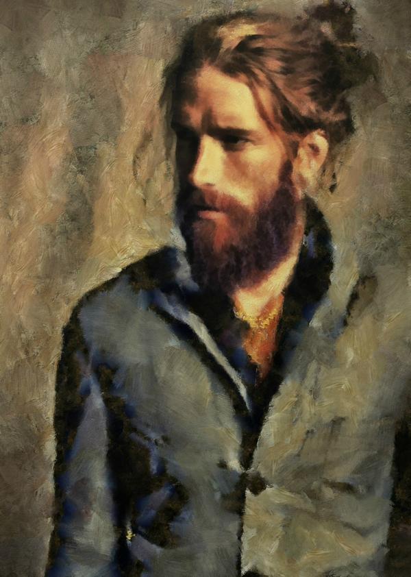 a modern day edouard  mixed media acrylic on canvas 18x24 http://t.co/N0VazGZzJb