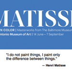 Dont miss Matisse: Life in Color at @SAMAart until 9/7/14 http://t.co/i0Y1iVvmQU #FineArt #SanAntonio http://t.co/LwWgWk36OL