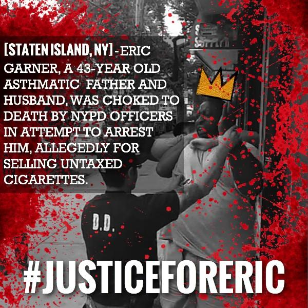 Are you on the #FreedomSide? #EricGarner #justiceforeric http://t.co/Z9I9JkO3tB