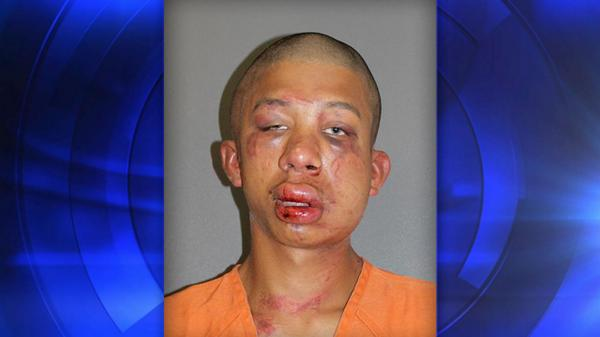"Father beats man he found raping son""He is nice &knocked out for you"" he told 911"
