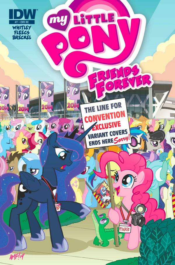 My Little Pony Friends Forever #7 (OFFICIAL BRONY CON EDITION - Limited Edition Color Cover) from @JetpackComics. http://t.co/7zJj1O1DO6