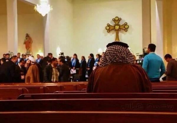 A church in #Iraq where Muslims & Christians gather to pray for safety & peace. That's the Iraq I know & love! http://t.co/hpsnovaen2