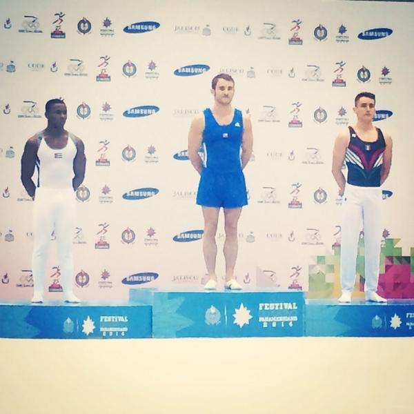 Oro en Suelo!!! Festival Olímpico Panamericano. http://t.co/vsLMDOu8uz