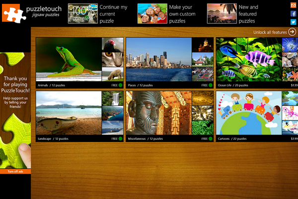 #App of the Week: Puzzle Touch. Take a photo from #OneDrive to puzzle in 4 easy steps: