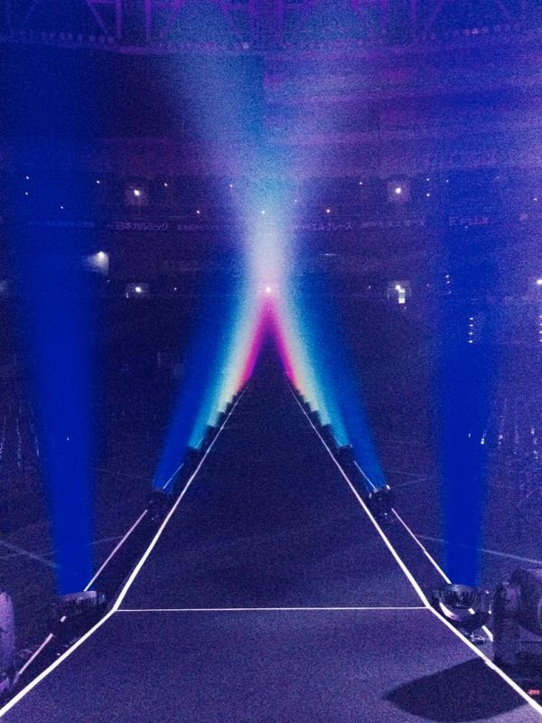 コブクロツアー15本目京セラドーム大阪2days初日☆最終列まで良い音届きますように。 http://t.co/WlKtFoB0mI