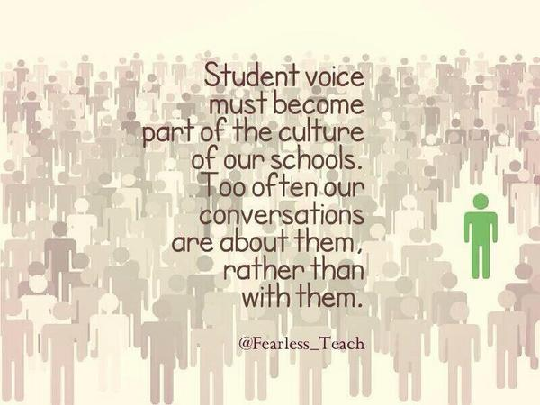 MT@Ev_Giannopoulos: importance of #StuVoice by @Fearless_Teach thx to @VLA_Principal #edchat #cpchat #mschat http://t.co/sGvDD0wAjQ #NSWDEC