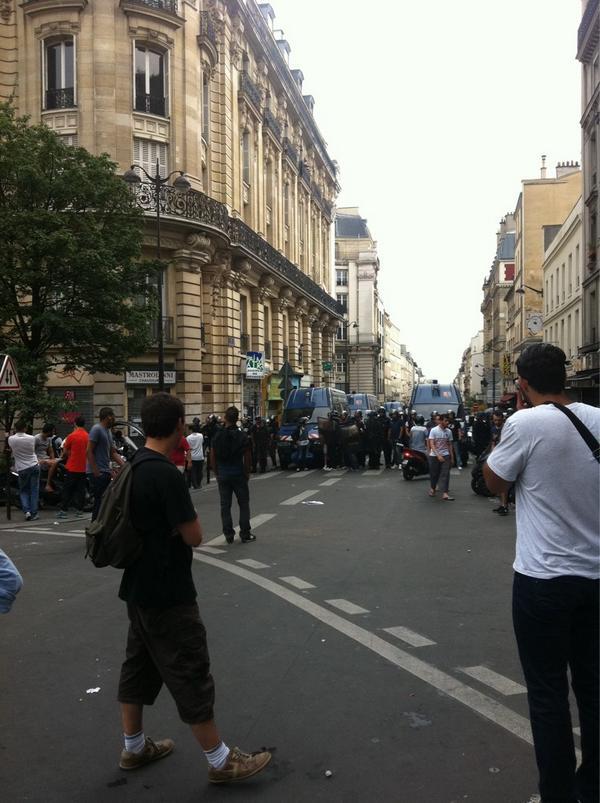 #Barbès Clignancourt 17:40 #ManifGaza http://t.co/K7Vr41KGse