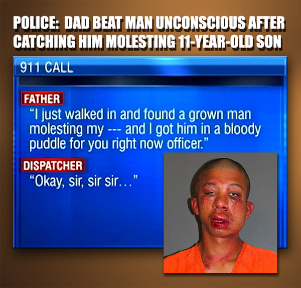 No charges will be filed against dad who beat man for allegedly sexually assaulting son, 11: http://t.co/GRpbbeeXai http://t.co/7tqYejykIc